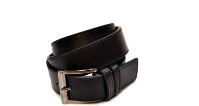 adglee Boys, Men Casual, Party, Formal, Formal Black Genuine Leather Belt