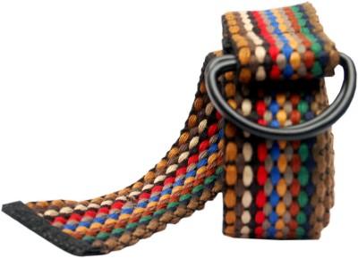 Say It Loud Men, Women Casual Multicolor Fabric Belt