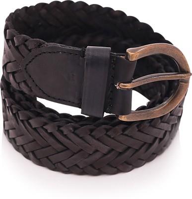 Bosa Men Formal Black Genuine Leather Belt