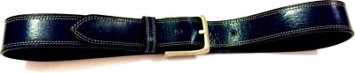 Aslea Men Formal Blue Genuine Leather Belt
