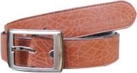 Winsome Deal Men Formal, Casual Brown Artificial Leather Belt best price on Flipkart @ Rs. 299