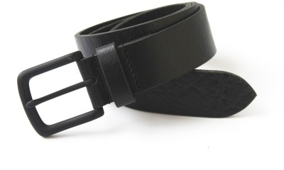 Vickiana Quest Boys, Men Casual Black Genuine Leather Belt