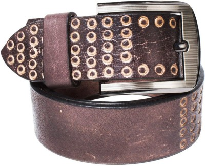top flyte Men Casual, Party, Formal, Evening Tan Genuine Leather Belt