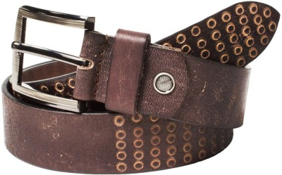 top flyte Men Tan Genuine Leather Belt