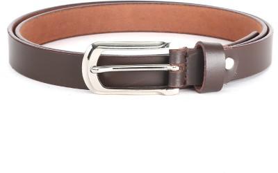 The Deer Club Women Casual Brown Genuine Leather Belt