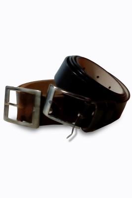 VICTORIA SECRET INDIA Men Formal Brown, Black Artificial Leather Belt