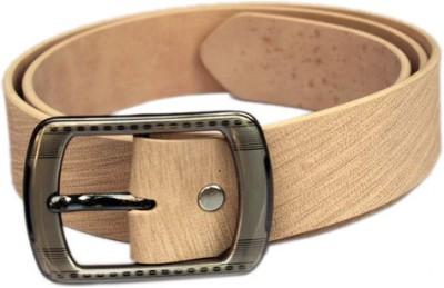 Winsome Deal Men Formal, Casual Beige Artificial Leather Belt