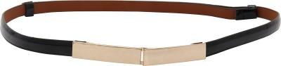 Naitik Products Women Casual Black, Beige Genuine Leather Belt