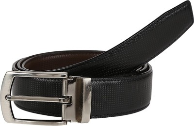 Allura Men Formal Black, Brown Genuine Leather Reversible Belt