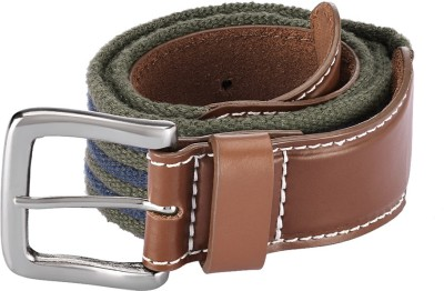 Parx Men Green Fabric Belt