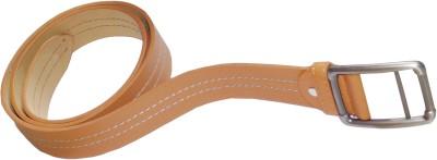 JTM Trading Men, Boys Brown Artificial Leather Belt
