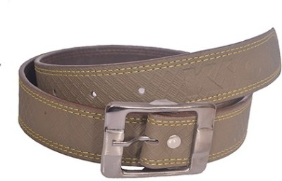 Aam Shopping Men Grey Artificial Leather Belt