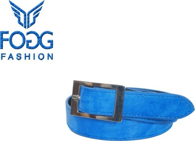 Fogg Fashion Store Girls, Women Casual, Formal Blue Artificial Leather Belt
