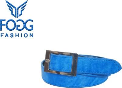 Fogg Fashion Store Girls, Women Casual, Formal Blue Artificial Leather Belt