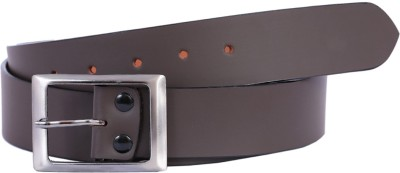 KRITIKAS,WORLD Men Casual Brown Genuine Leather Belt