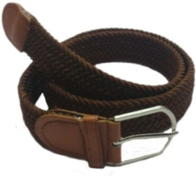 Shop & Shoppee Men, Women Casual Brown Canvas Belt