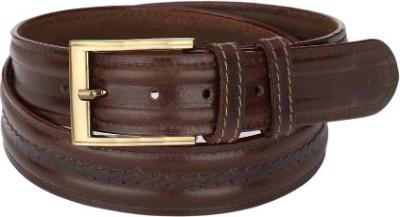 Jupiter Men Party Brown Genuine Leather Belt