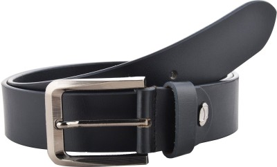 Ahsan Boys, Men Formal Black Genuine Leather Belt