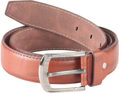 Goodwill Leather Art Men, Boys Casual, Evening, Formal, Party Tan Artificial Leather Belt