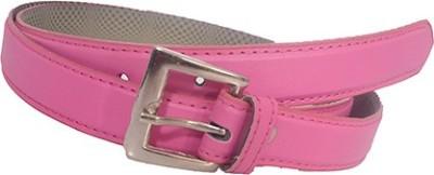 Aam Shopping Women Pink Artificial Leather Belt