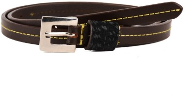 Paradigm Design Lab Women Formal Brown Genuine Leather Belt