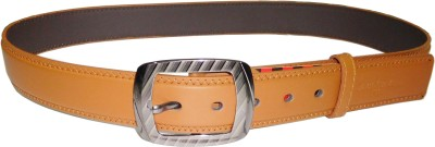 Reddish Men Beige Artificial Leather Belt