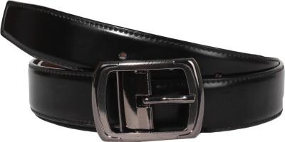 CARLOS Men Casual Brown Genuine Leather Belt
