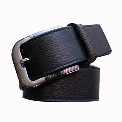 Winsome Deal Men Formal Black Artificial Leather Belt