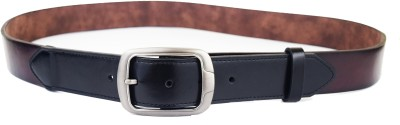 ABHINAVS Men Casual, Party Brown, Multicolor Genuine Leather Belt