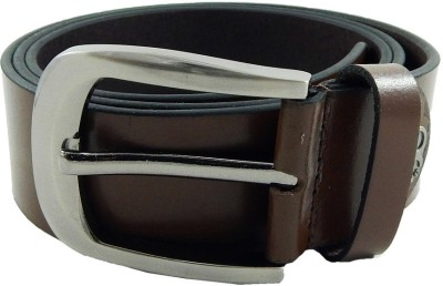 Shilgrow Men, Boys Formal, Casual Brown Genuine Leather Belt