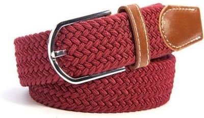Ruvee Boys, Men, Girls, Women Red Fabric Belt