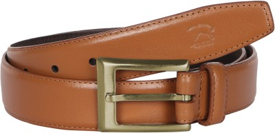 Kaizu Men Formal Tan Genuine Leather Belt