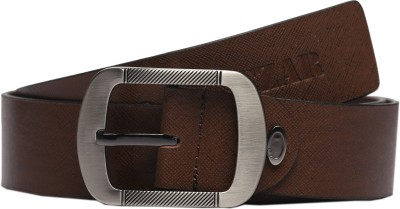 Magson Men, Boys Casual, Evening, Formal, Party Brown Genuine Leather Belt