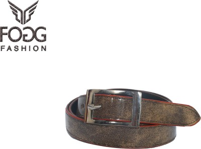 Fogg Fashion Store Girls, Women Casual, Formal Brown Artificial Leather Belt