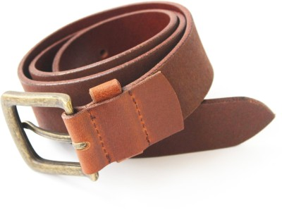 Vickiana Quest Boys, Men Casual Brown Genuine Leather Belt
