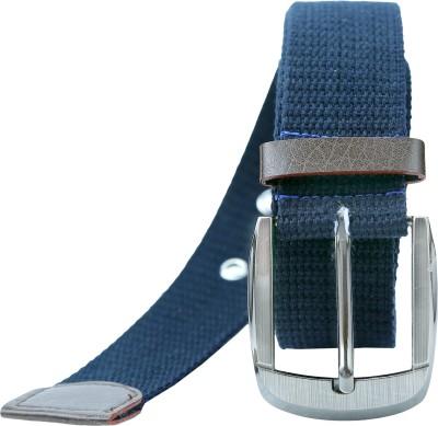 Contra Men Blue Canvas Belt
