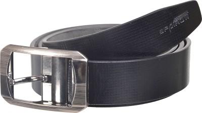 Spairow Men Casual Black Genuine Leather Belt
