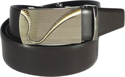 Mars And Venus Boys, Men, Girls, Women Formal, Party, Casual Black, Brown Genuine Leather Reversible Belt