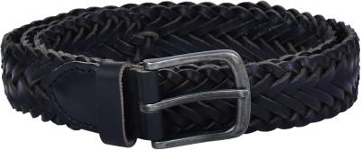 Lafaas Men Party Black Genuine Leather Belt