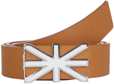 American Swan Men Casual Brown Synthetic Belt