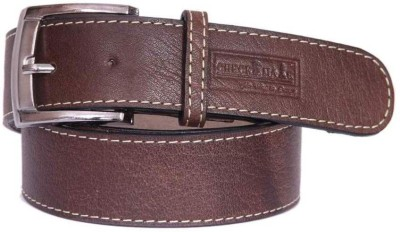 Checkmate Men Brown Genuine Leather Belt