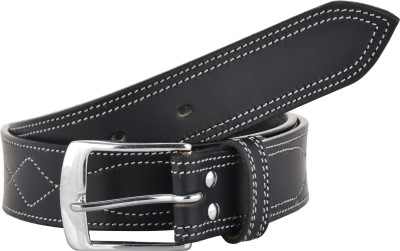 Sterling Germany Men Casual Black Genuine Leather Belt