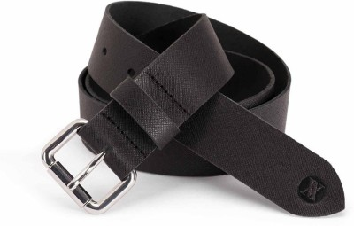 Viari Women Casual Black Genuine Leather Belt