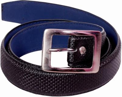 D Jindals Men, Boys Casual Black Artificial Leather Belt