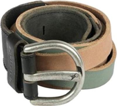 Fastrack Men Green Artificial Leather Belt