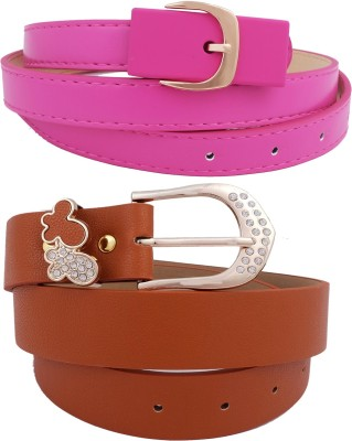 Super Drool Women, Girls Casual, Party, Evening Multicolor Synthetic Belt