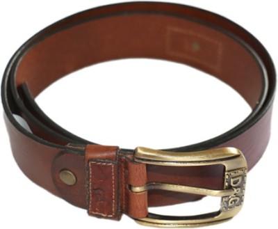 Smartszone Men Brown Genuine Leather Belt