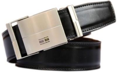 Winsome Deal Men Formal, Casual Black Artificial Leather Belt