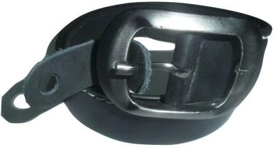 EVG Boys Black Genuine Leather Belt