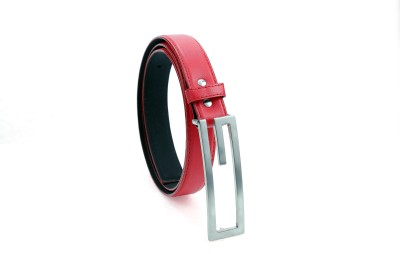 Contra Women Red Artificial Leather Belt